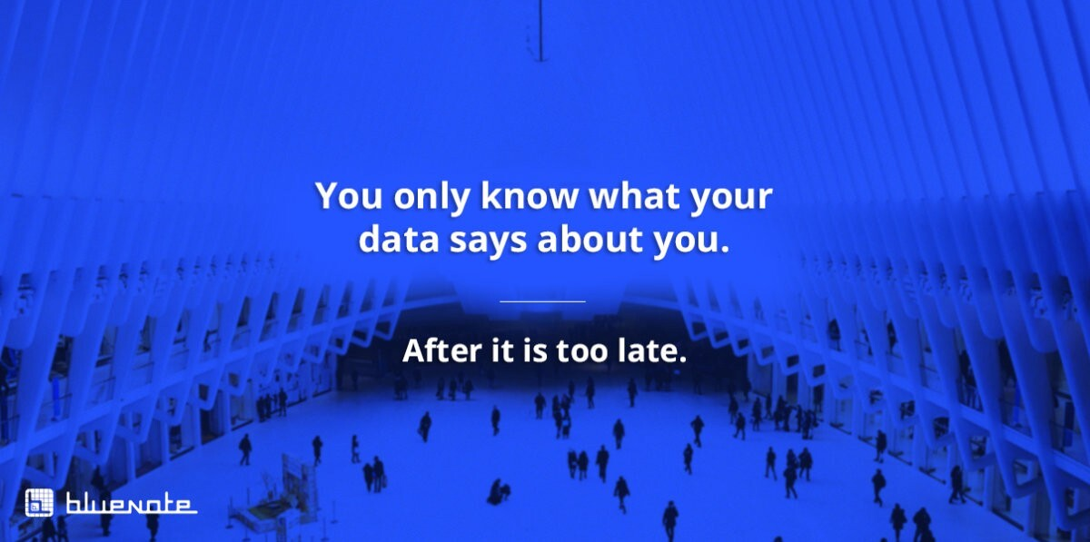 Only you know what your data says about you